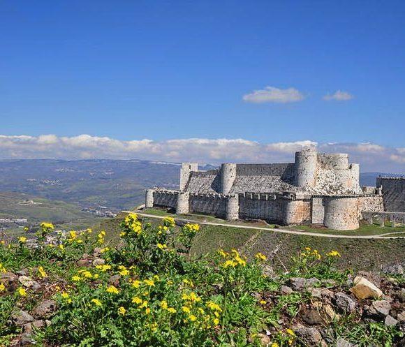 Le crac des chevaliers, l'une des plus puissantes forteresses de la chrétienté d'Orient.