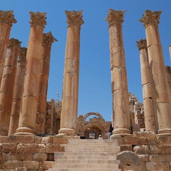 Jerash,  une cité romaine préservée au cœur de la vie culturelle des jordaniens