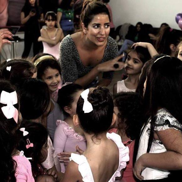 Shyrine Ziadeh, Un centre de danse au service de la paix