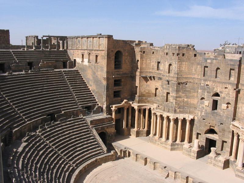 A la croisée des chemins : Bosra