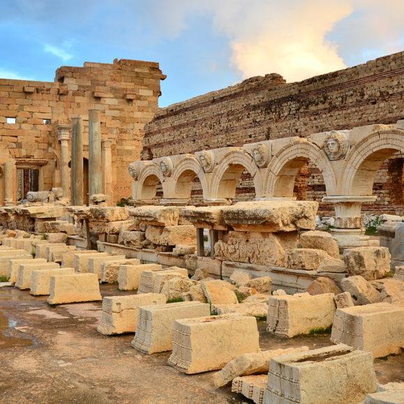 Leptis Magna, la romaine d'Afrique
