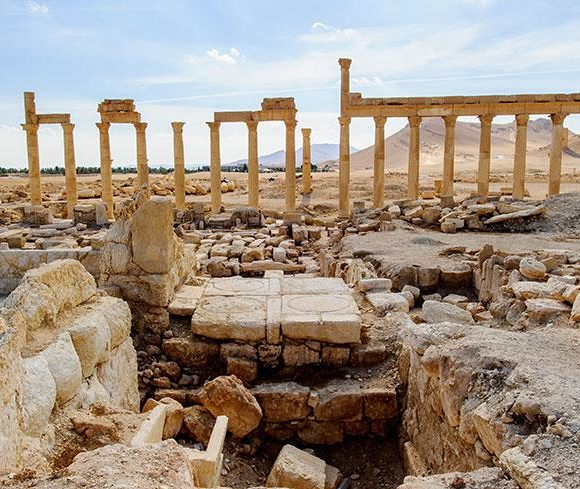 Le trafic des biens archéologiques en Syrie depuis 2011.
