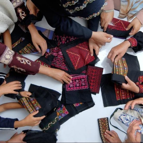 Embroidery as an intangible heritage. A Palestinian story